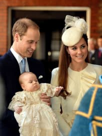 George, Kate and William