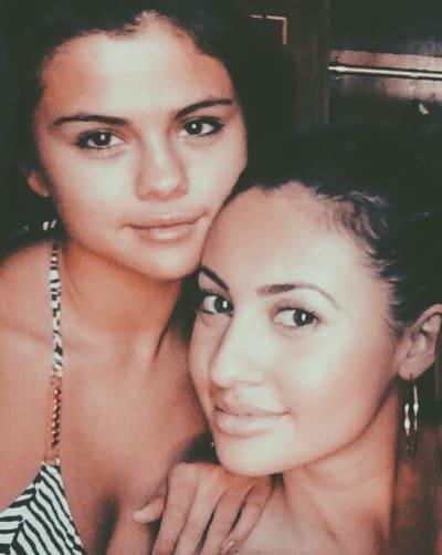 Francia Raisa and Selena Gomez