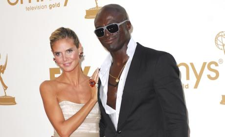 Klum and Seal