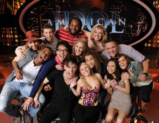 American Idol Top 13 Photo