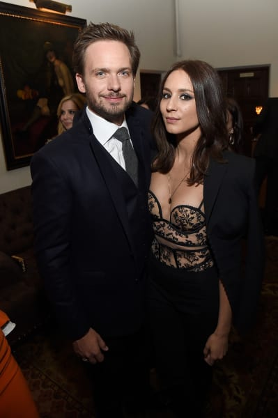 Troian Bellisario and Patrick