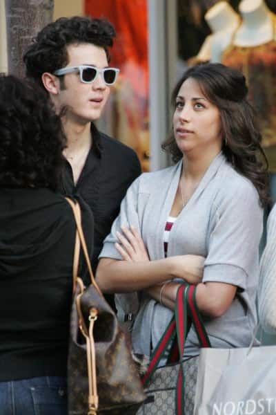 Danielle Deleasa and Kevin Jonas Photo