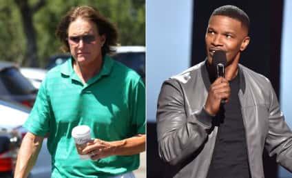 Jamie Foxx Slammed For Bruce Jenner Transphobic Jokes at iHeartRadio Music Awards