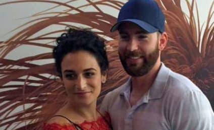 Chris Evans & Jenny Slate: Yep, They're Really a Couple!
