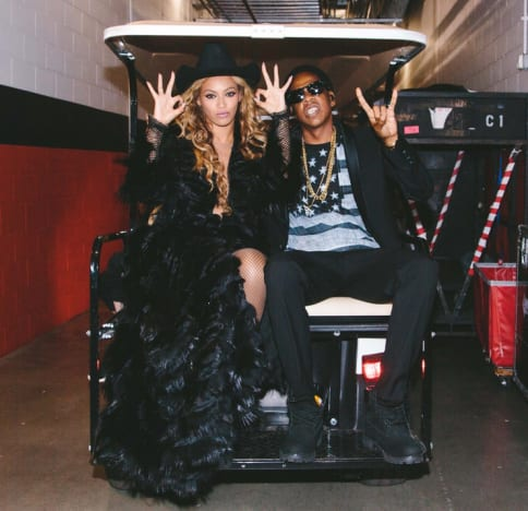 Beyonce and Jay Z: Backstage