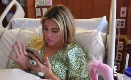 Khloe Gives Birth on KUWTK, Reacts to Cheating Scandal