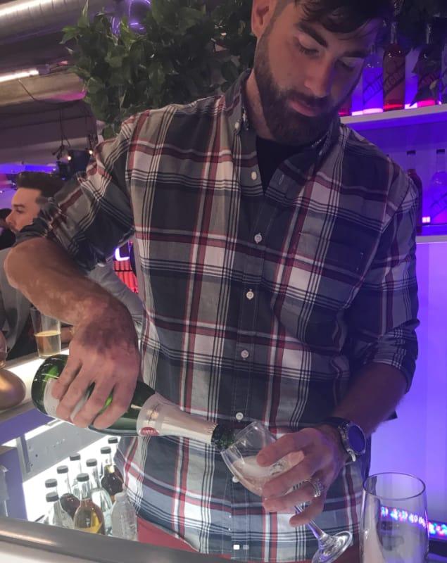 David eason bartending