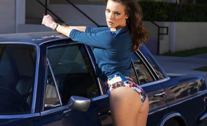 Katie Cassidy Bikini Photos: Sharp, Hot in Random Magazine!