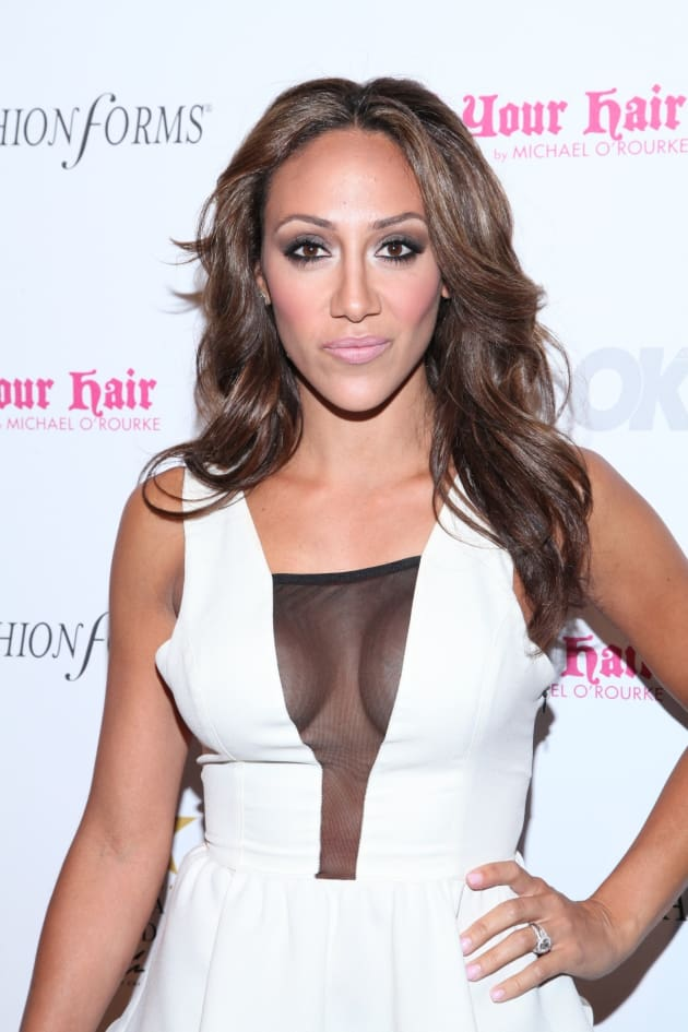 Melissa Gorga Red Carpet Pose