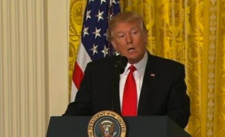 Donald Trump Press Conference Pic