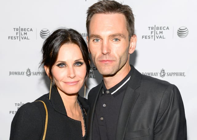 Courteney Cox and Johnny McDaid - 13 Years