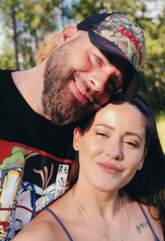 Jenelle evans and david eason in 2020