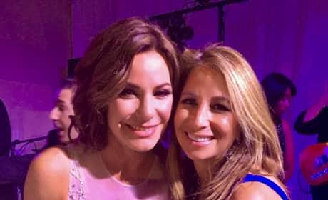 LuAnn De Lesseps & Jill Zarin Are Friends