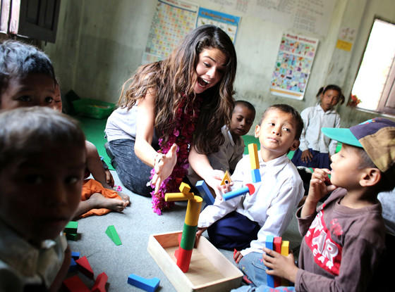 Selena Gomez UNICEF Photo