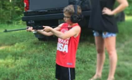 Bristol Palin Shares Pic of Toddler Son Shooting a Gun