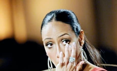Melissa Gorga Cries