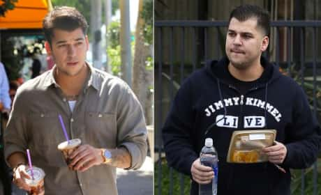 Rob Kardashian Weight Gain