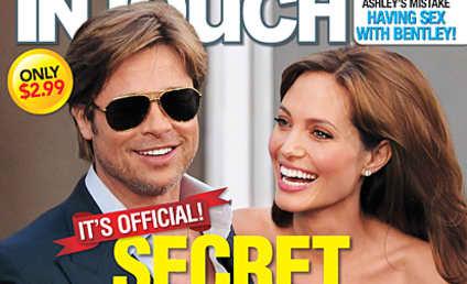 Brad Pitt and Angelina Jolie: The Secret Wedding!