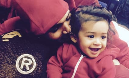 Chris Brown Shares First Pics of #ROYALTY: God Has Blessed Me With My Twin!!