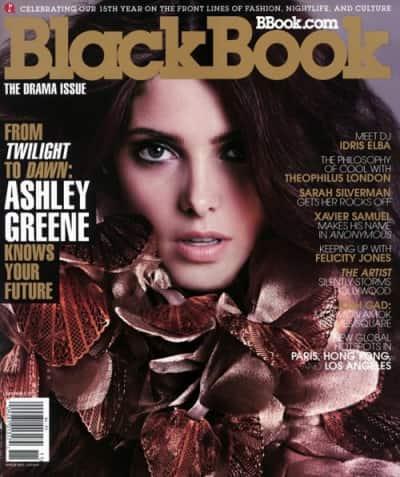 Ashley Greene BlackBook Cover