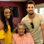 Rachel Lindsay, Bryan Abasolo and His Grandmother