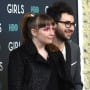 Jack Antonoff and Lena Dunham Photo