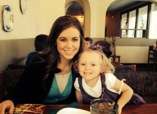 Jana Duggar and Josie Duggar, Throwback Photo