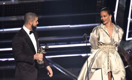 Rihanna and Drake: Affectionate At VMA After Party, Totes In Love