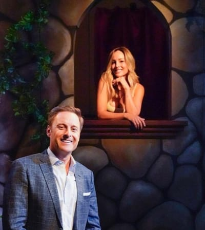 Clare Crawley and Chris Harrison Pic