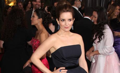 Who looked better at the Oscars, Tina Fey or Melissa McCarthy?
