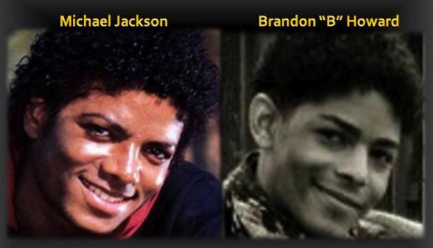 Brandon Howard and Michael Jackson