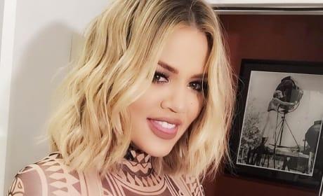 Khloe Kardashian Smiles