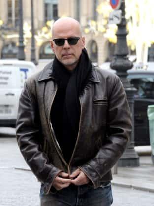 Bruce Willis on the Street