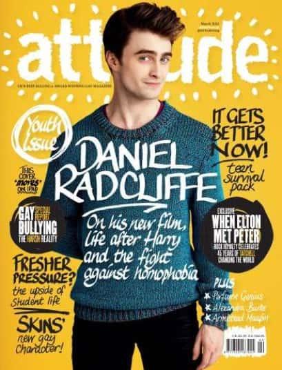 Daniel Radcliffe on Attitude