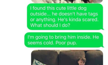 Wife Tricks Husband Into Thinking She Adopted a Coyote