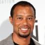 Smiling Tiger Woods