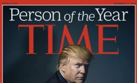 Donald Trump Time Cover