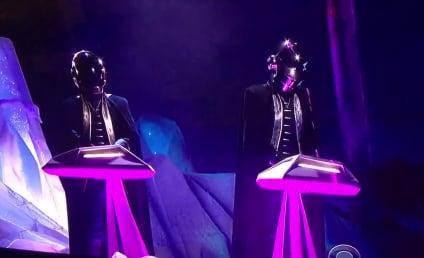 Daft Punk, The Weeknd Grammy Performance Gets Futuristic