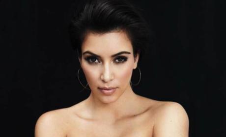 Kim Kardashian in InStyle Australia