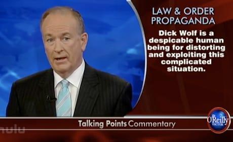 Bill O'Reilly vs. Law & Order