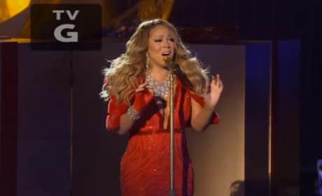 Mariah Carey NBC Performance
