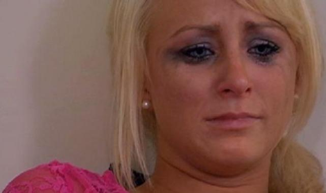Leah Messer Crying