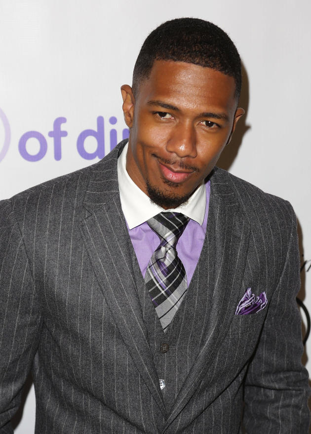 Nick Cannon in a Suit