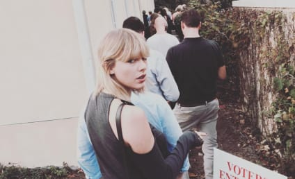 Taylor Swift Reveals Presidential Preference with Sweater