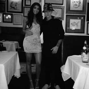Justin Bieber and Yovanna Ventura Photo
