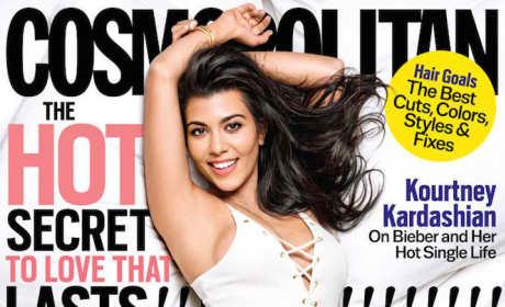 Kourtney Kardashian Cosmopolitan Cover