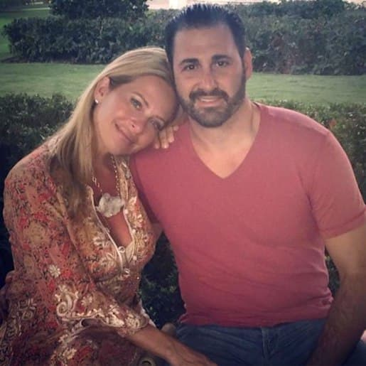 David Cantin and Dina Manzo