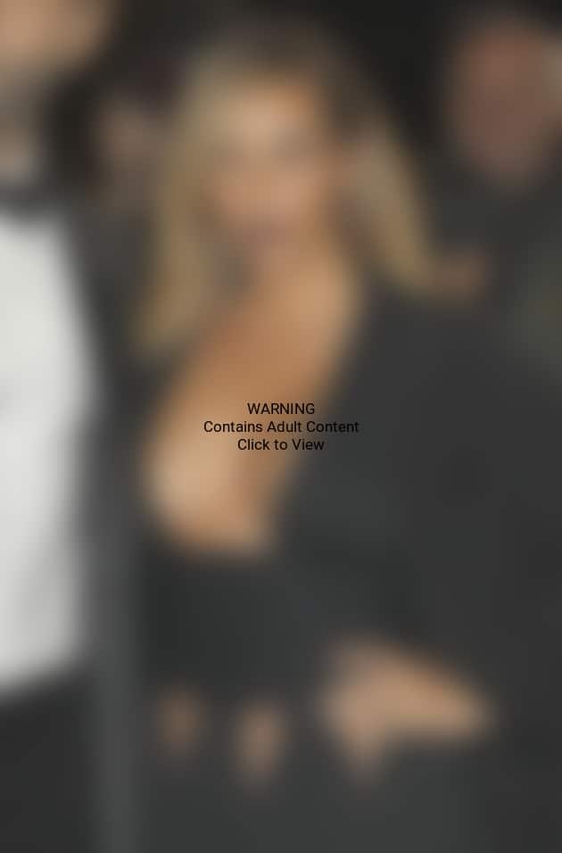 Kim Kardashian with Lots of Cleavage