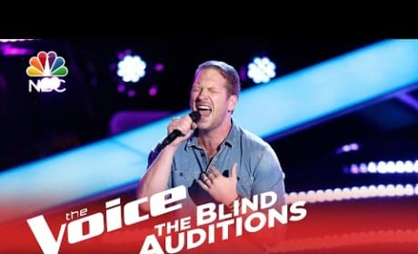 Barrett Baber - Angel Eyes (The Voice)