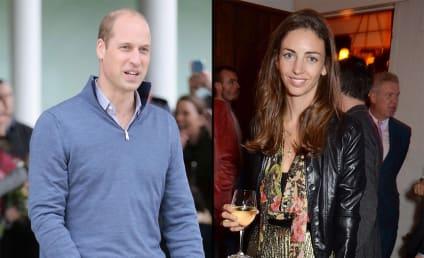 玫瑰汉伯里:她告诉记者讲述她的事理与威廉王子?